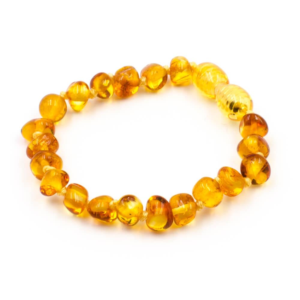 Bracelet en ambre