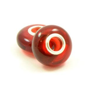 Perle/Charm Pandora Ambre Rouge