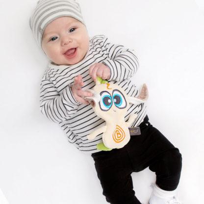 Doudou Bébé BOON'A en Ambre Biologique et Coton