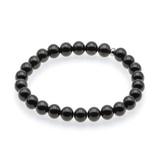 Bracelet Obsidienne Noire 8mm