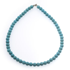 Collier Howlite Turquoise