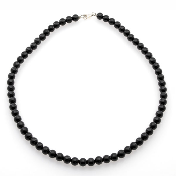 Collier Pierre Obsidienne